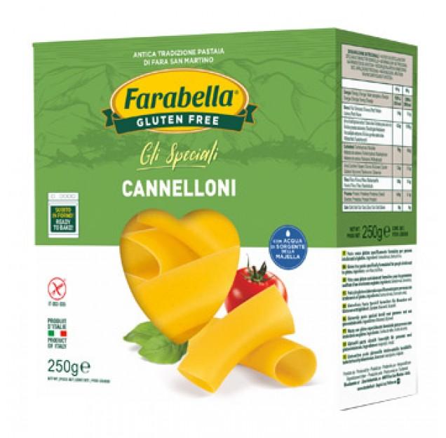 Cannelloni farabella senza glutine e senza lattosio