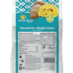 Ori sfoglia dolce Ori di Sicilia senza glutine e senza lattosio