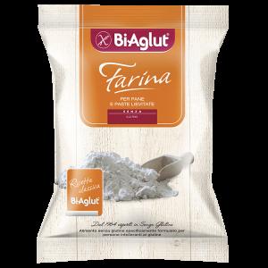 Farina per pane e paste lievitate biaglut senza glutine