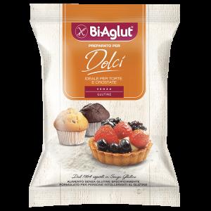 Preparato per dolci biaglut senza glutine