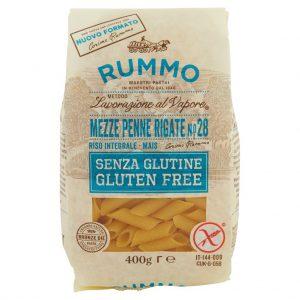 Mezze penne rigate mais e riso integrale senza glutine