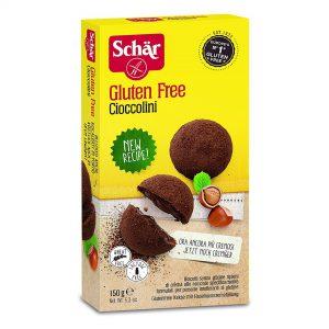 Cioccolini Schar senza glutine e senza lattosio