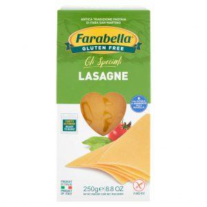 Lasagne Farabella senza glutine e senza lattosio