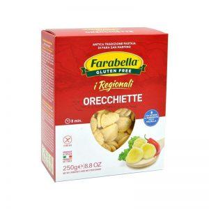 Orecchiette farabella senza glutine e senza lattosio
