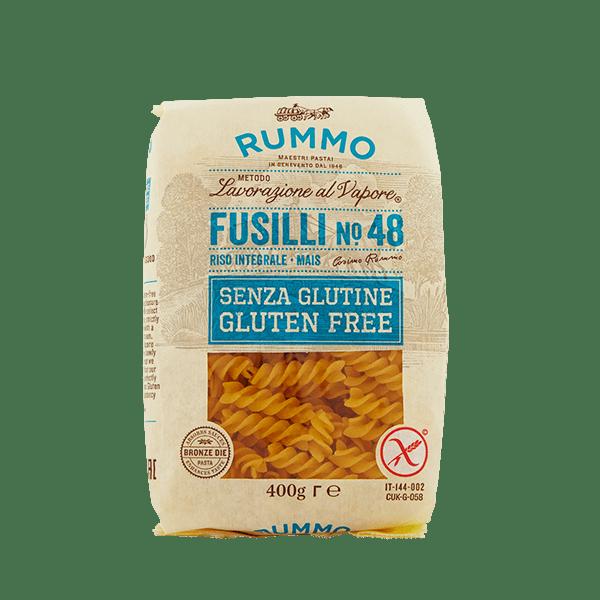 Fusilli mais e riso integrale senza glutine