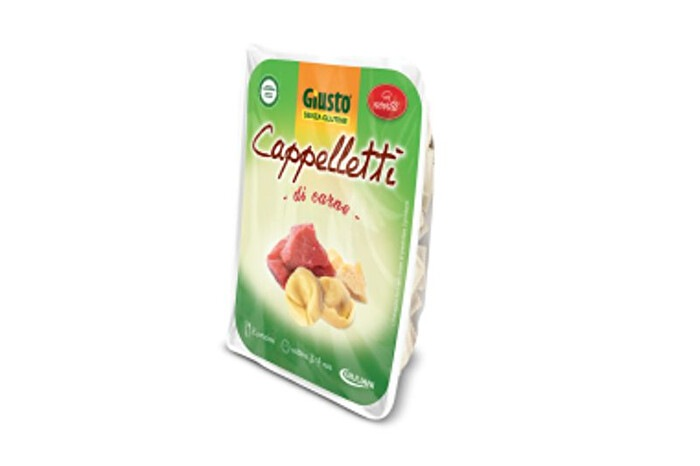 Cappelletti di carne giusto senza glutine e senza lattosio