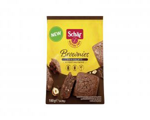 Brownies schar senza glutine e senza lattosio