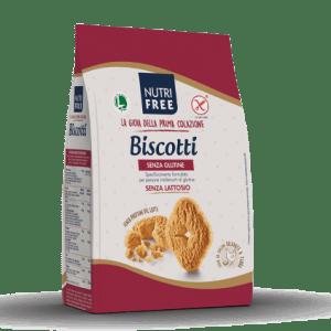 Biscotti nutrifree senza glutine e senza lattosio