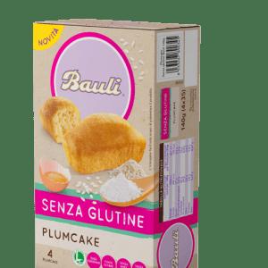 Plumcake bauli senza glutine e senza latte