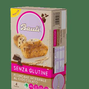 Plumcake integrale al cioccolato bauli senza glutine e senza lattosio